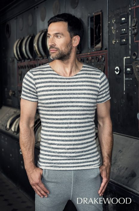 DRAKEWOOD Flamé Streifen-Shirt