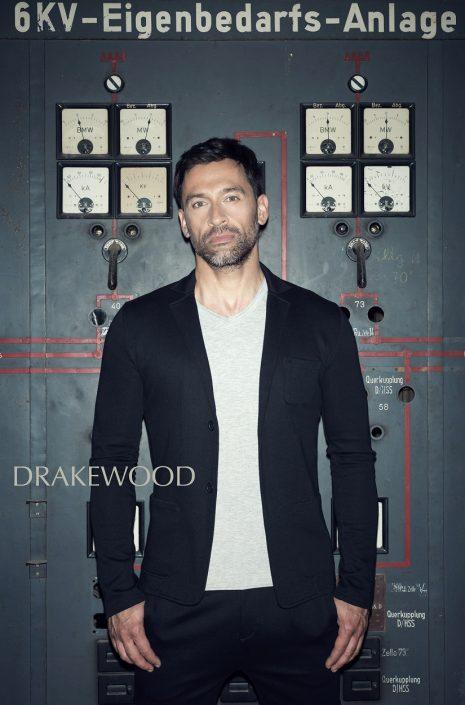 DRAKEWOOD Japanischer Jersey-Blazer