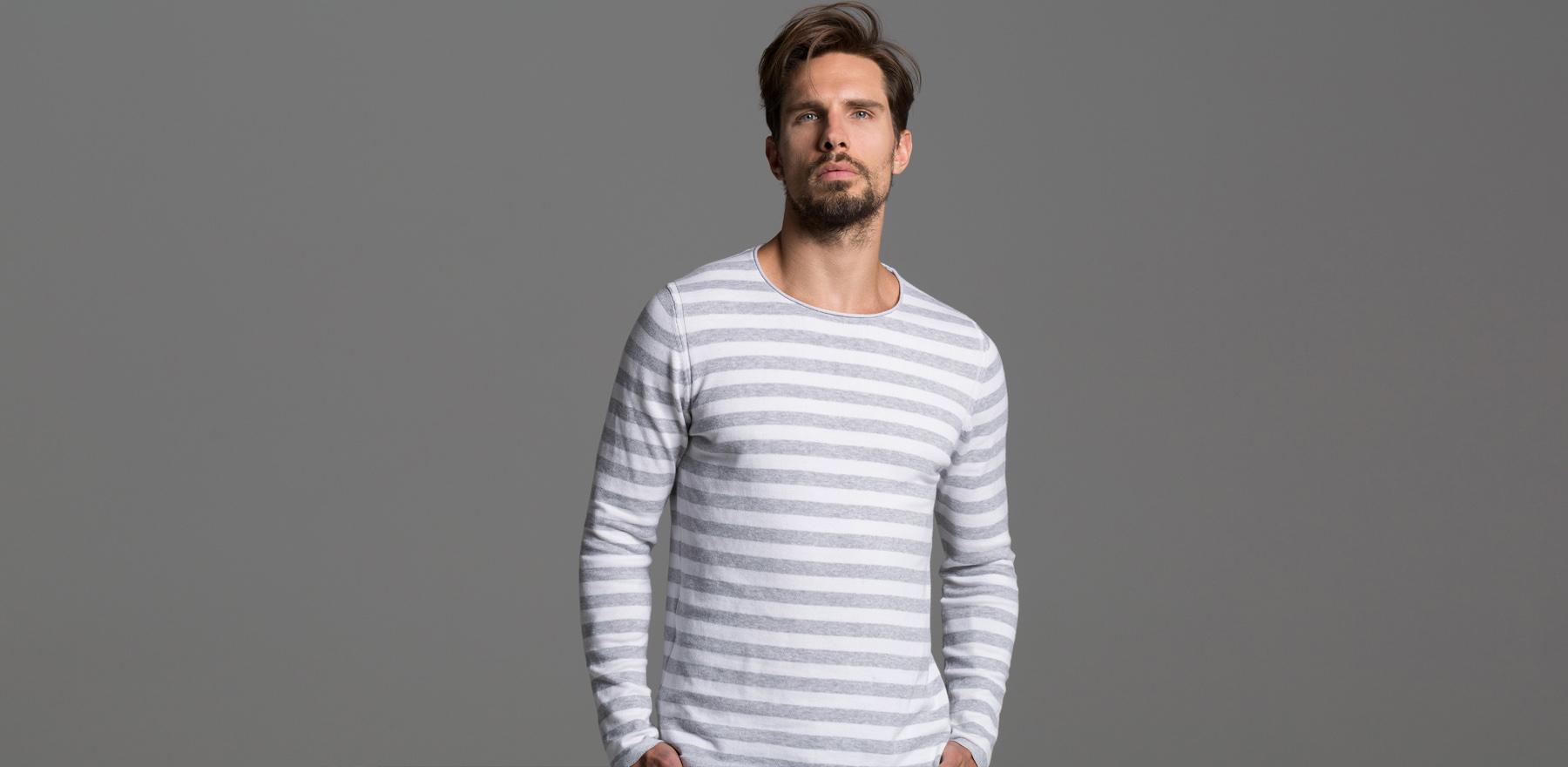 DRAKEWOOD Frühjahr-Sommer 2017 Streifen Pullover