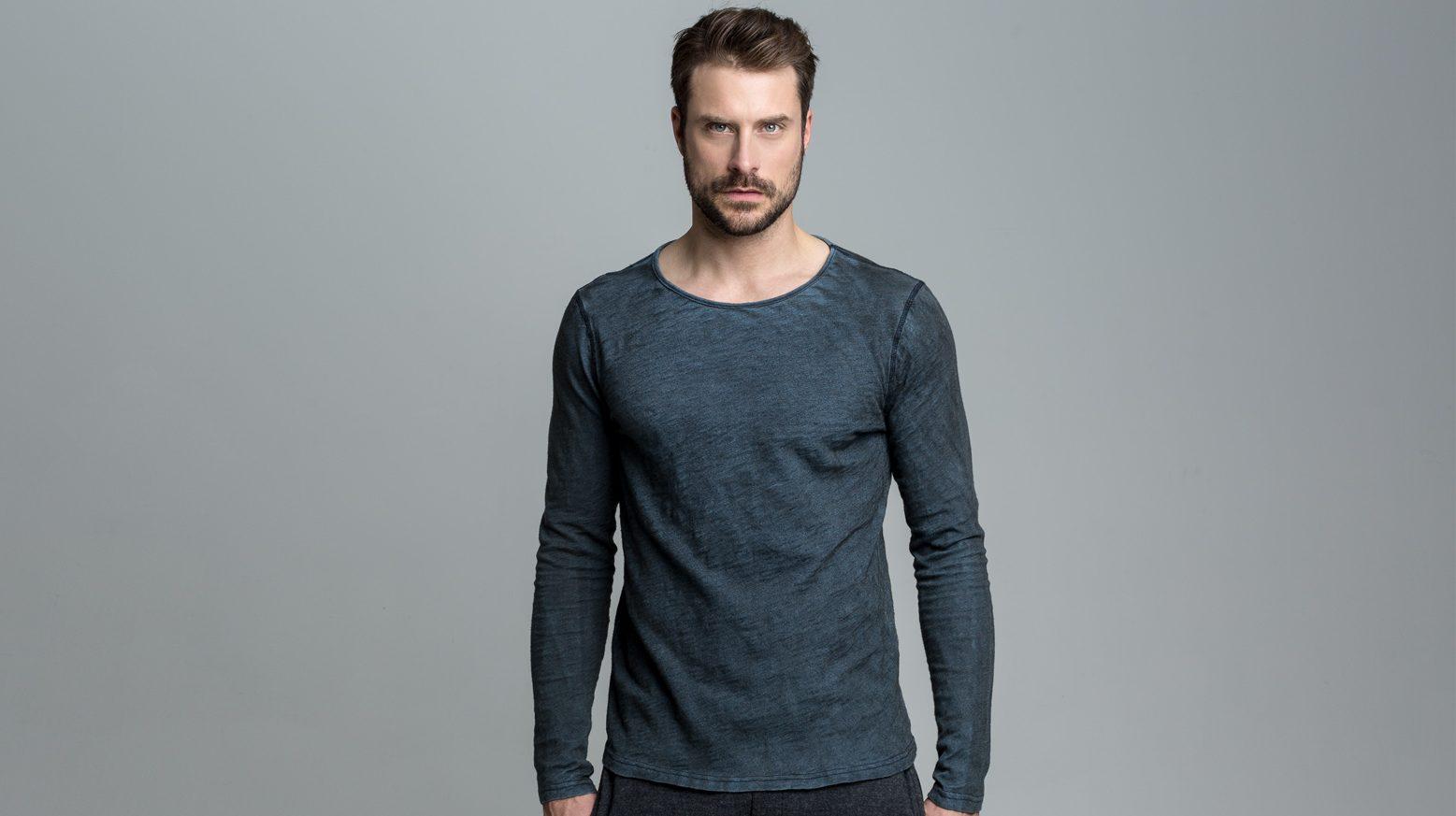 DRAKEWOOD Japanisches Indigo T-Shirt Stefan Biergans