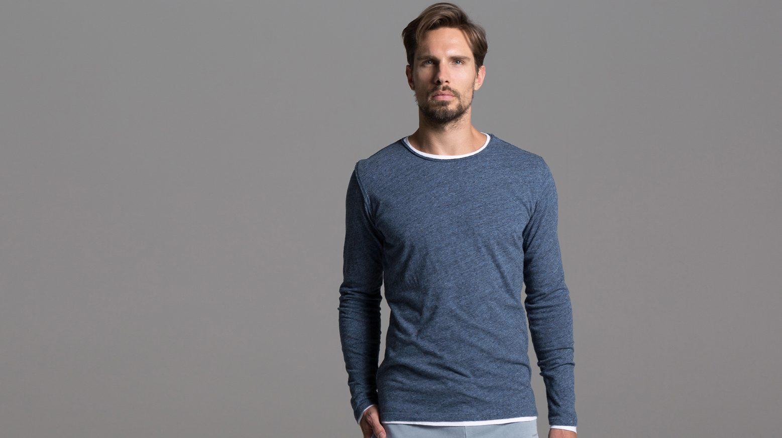 DRAKEWOOD Leinen 2in1 Shirt Stefan Biergans